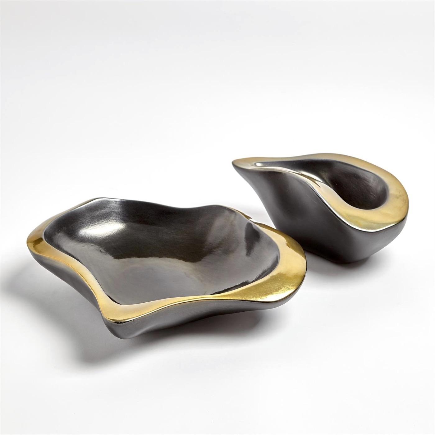 Kero Ceramic Bowls | Gold