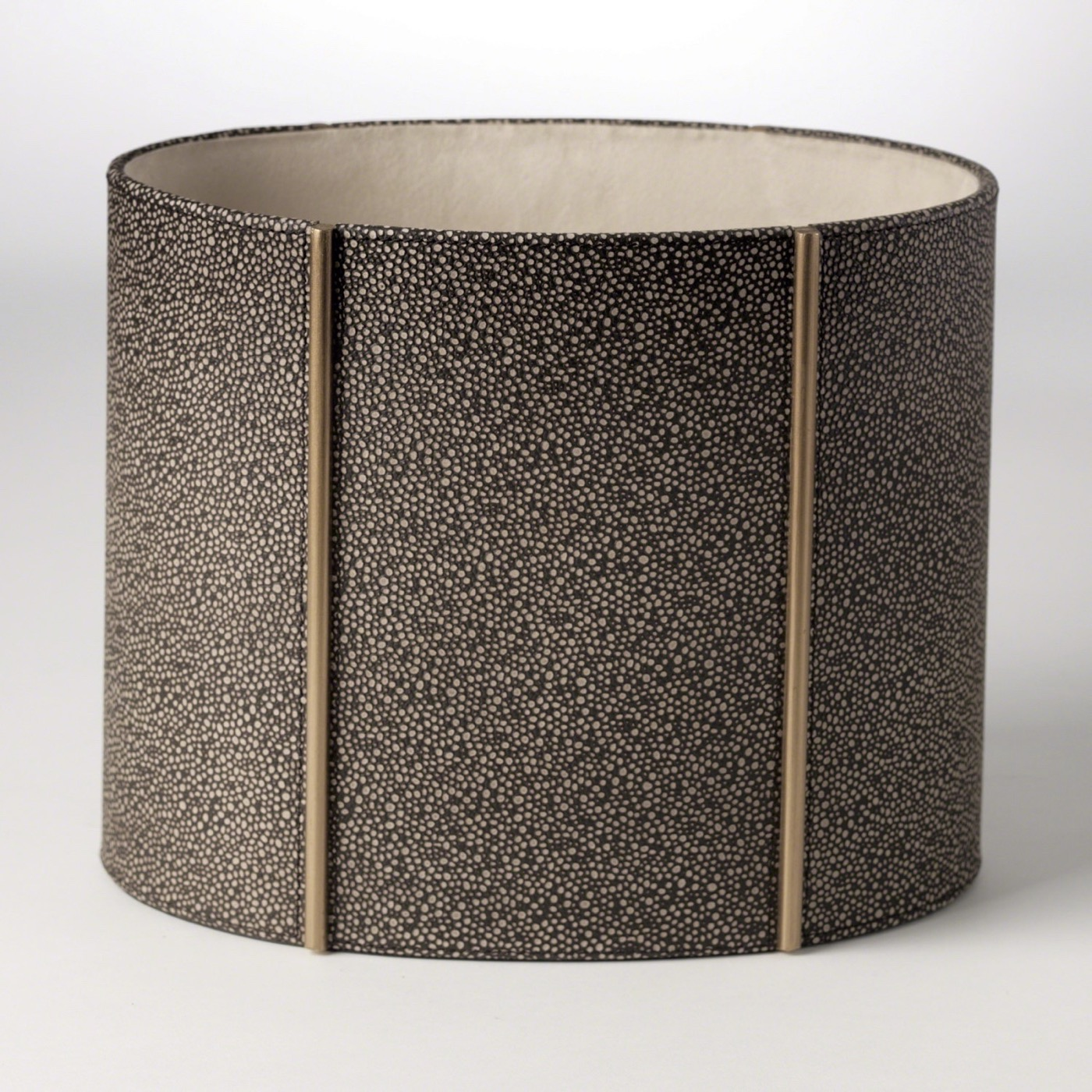Winston Leather Wastebasket | Brown