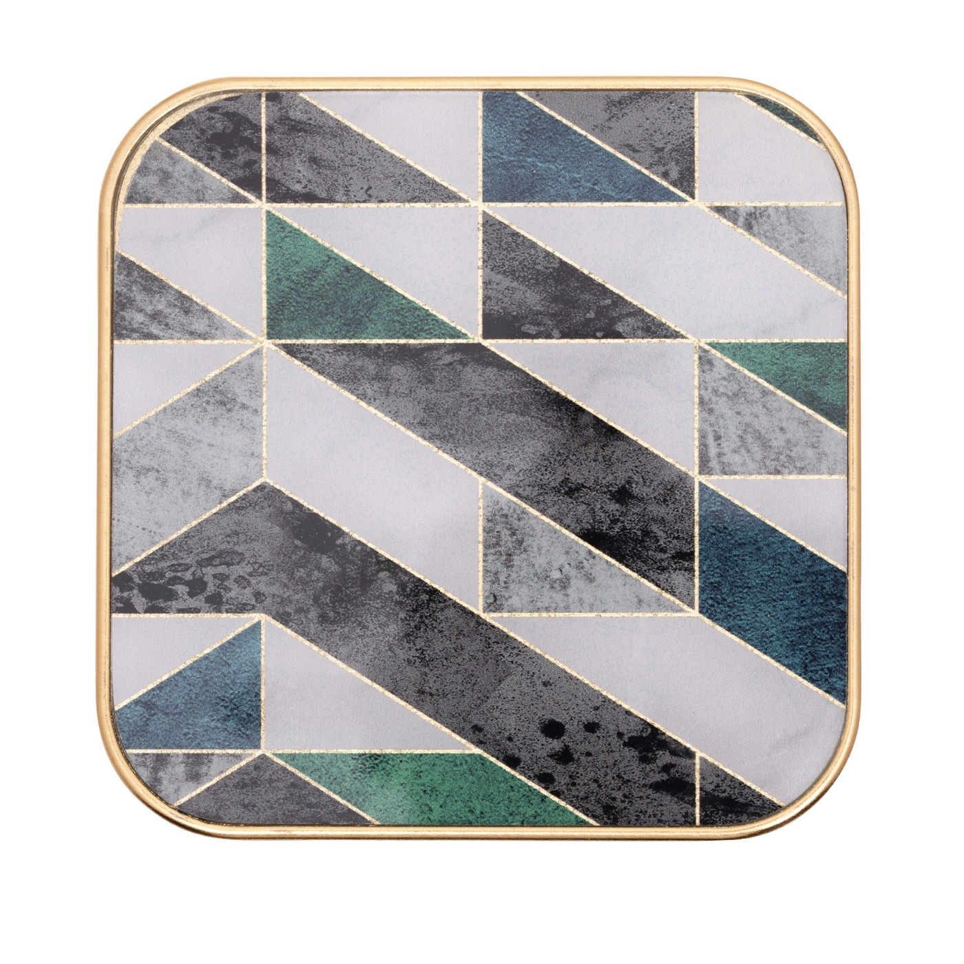 "Craddock Coasters Set | Geo ""Marble"""