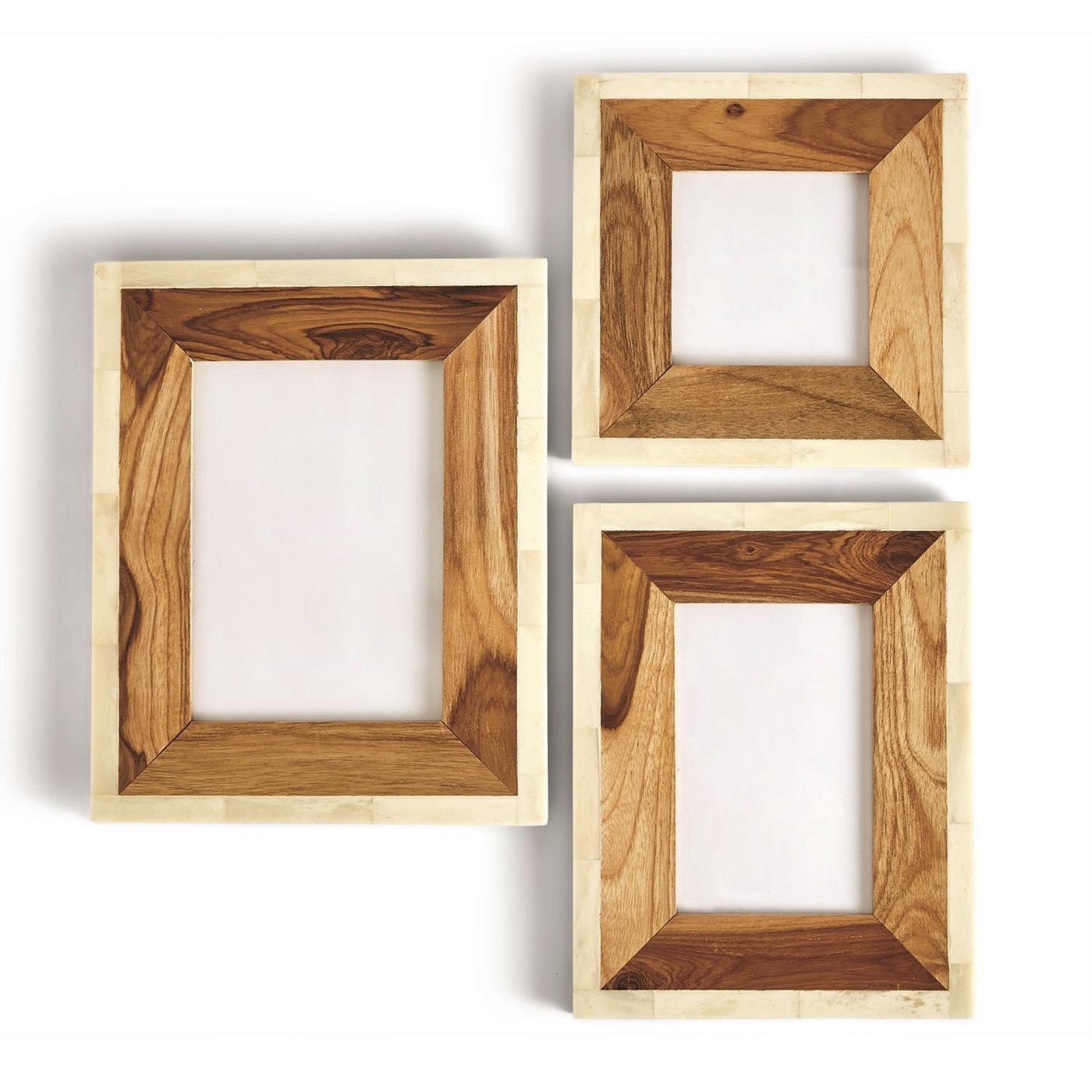 Lebert Wood & Bone Frames Set