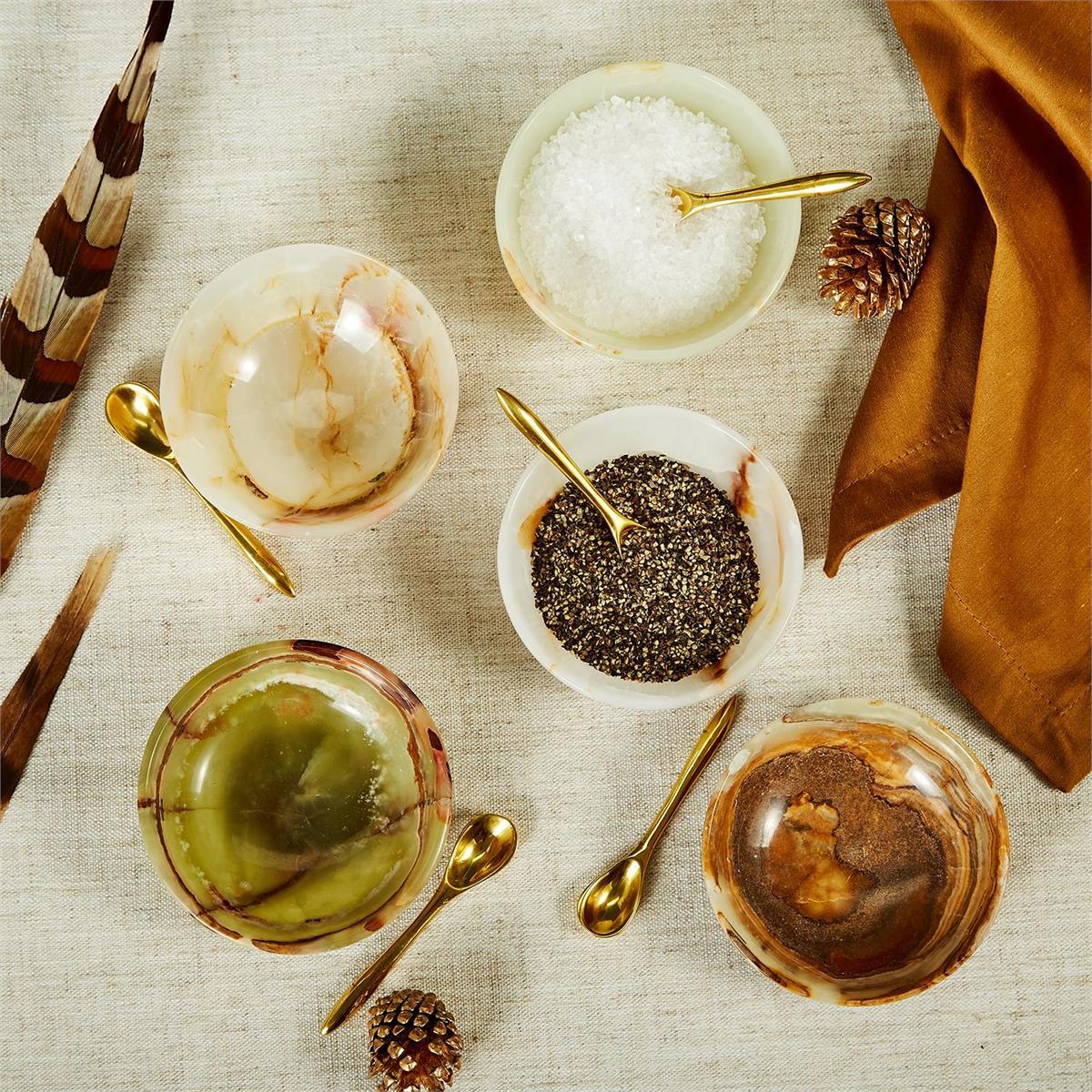 Hollis Onyx Seasoning Bowls