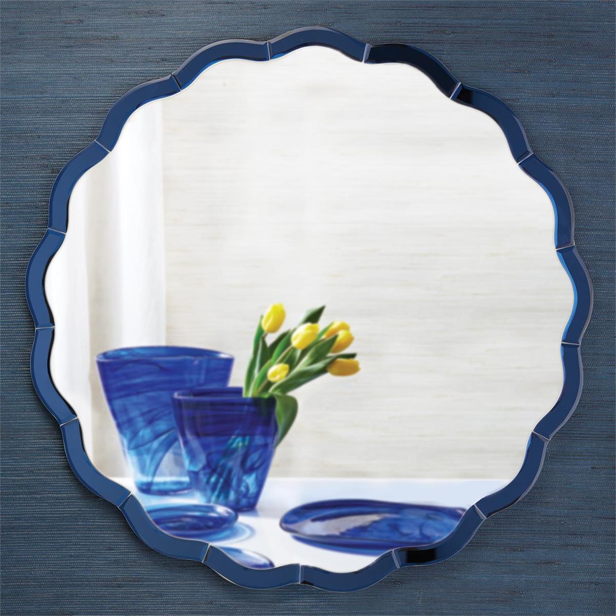 Jillian Wall Mirror | Blue