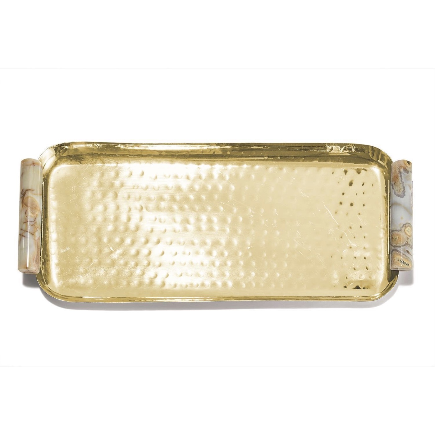 Rozi Gold & Agate Tray