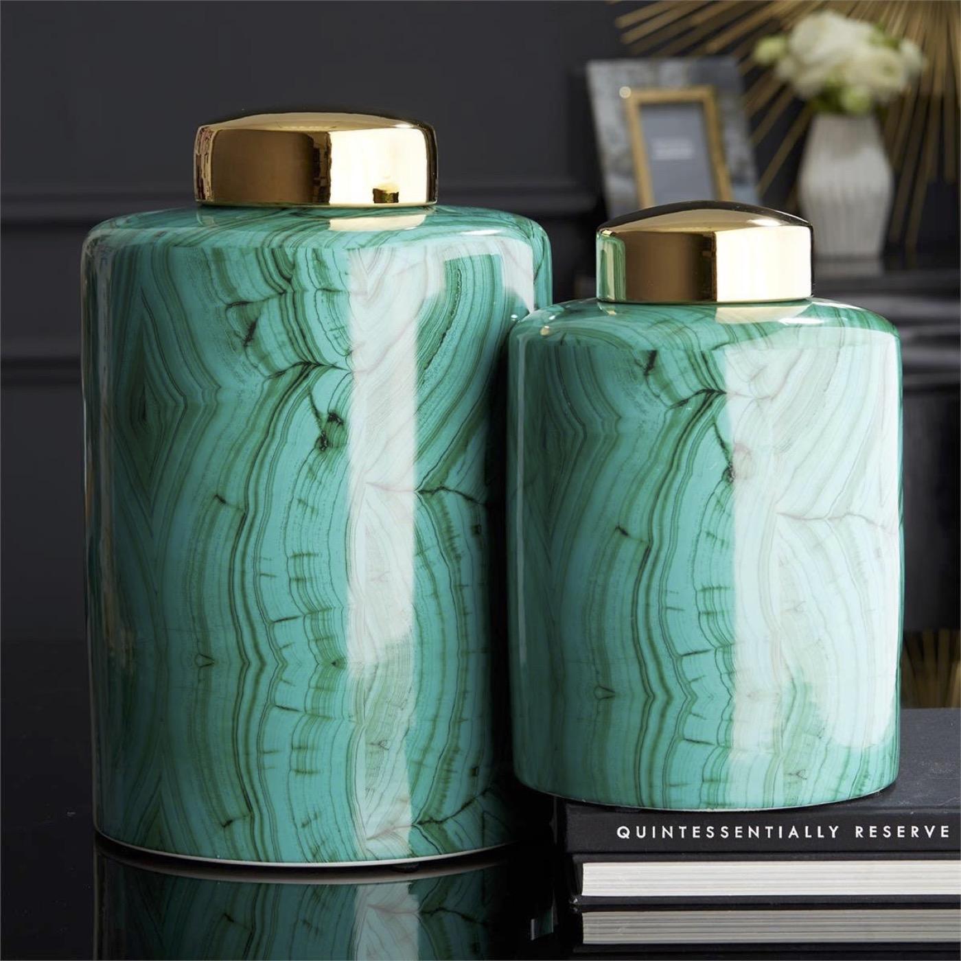 Octavia Porcelain Jar Set