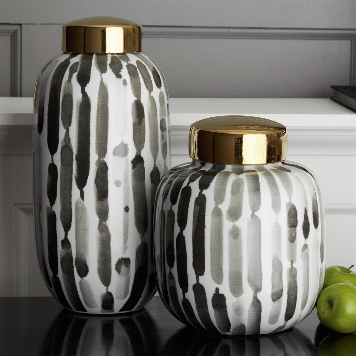 Rickey Porcelain Jar Set
