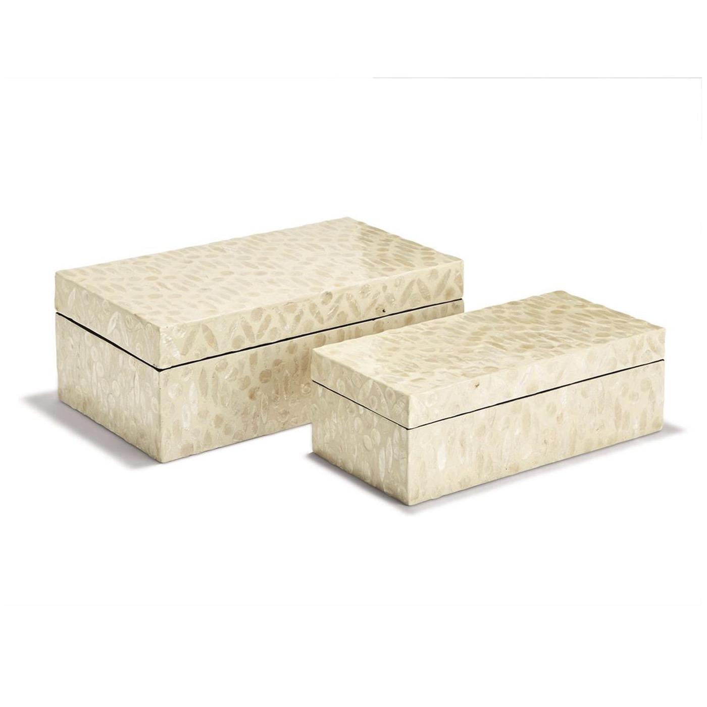 Mindi MOP Boxes Set   Cream