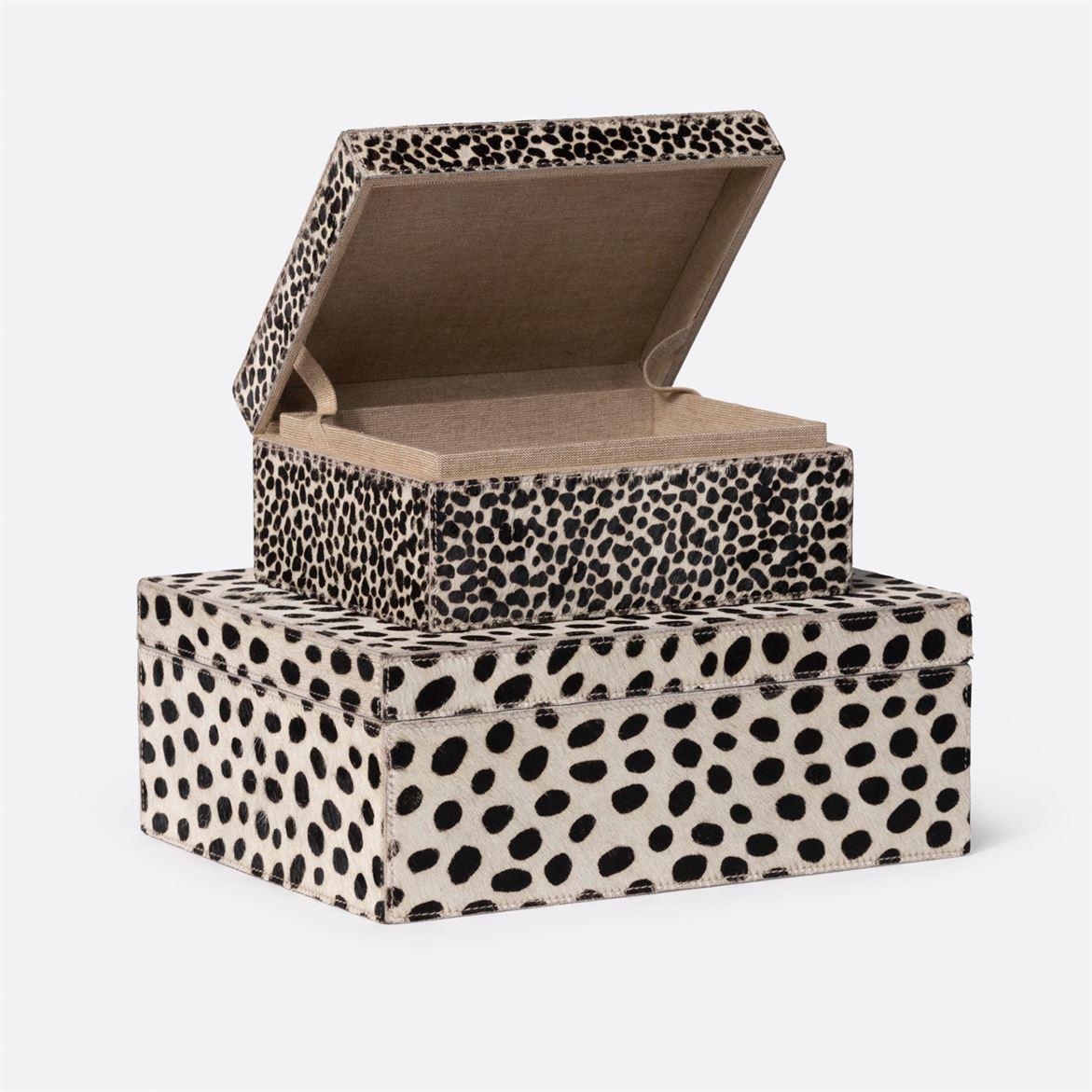 Deville Patterned Hide Boxes Set