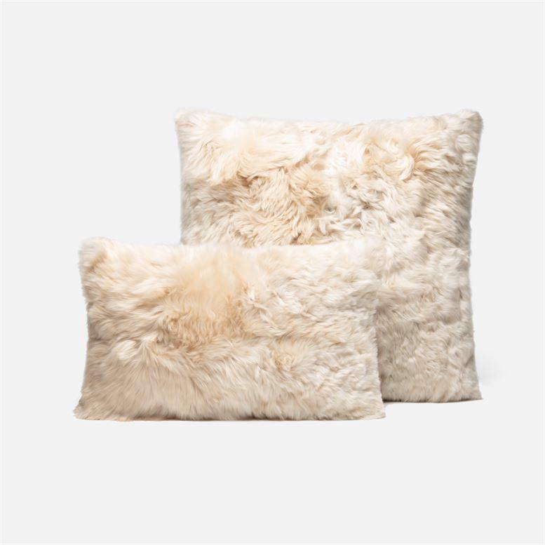 Andes Alpaca Pillows | Cream