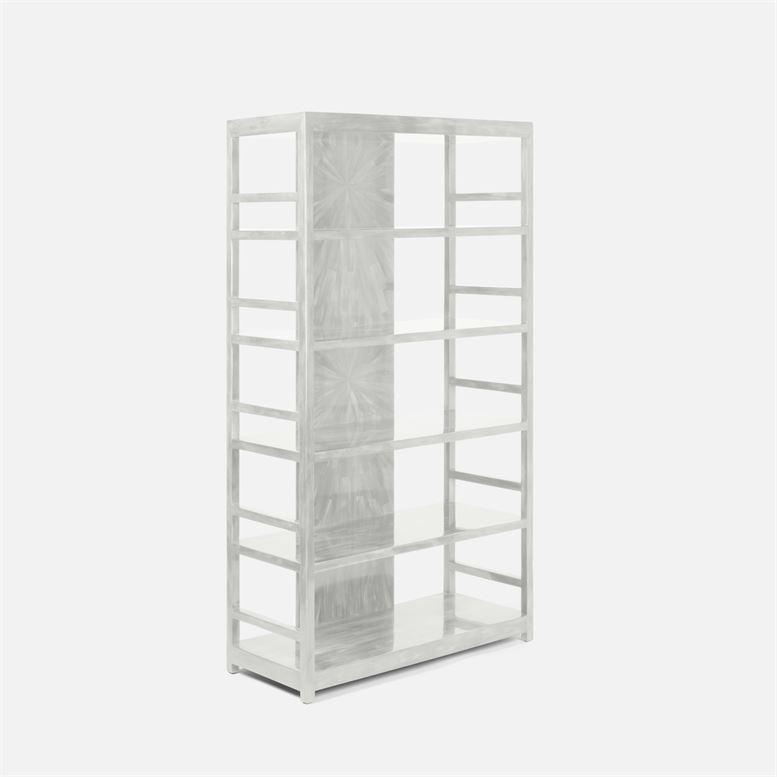 "Helios ""Horn"" Bookshelf | Ivory"