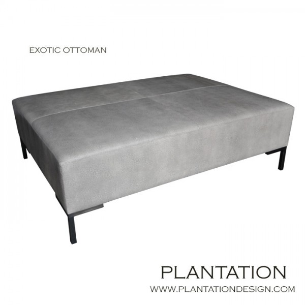 Ezra Exotic Ottoman, Fabric