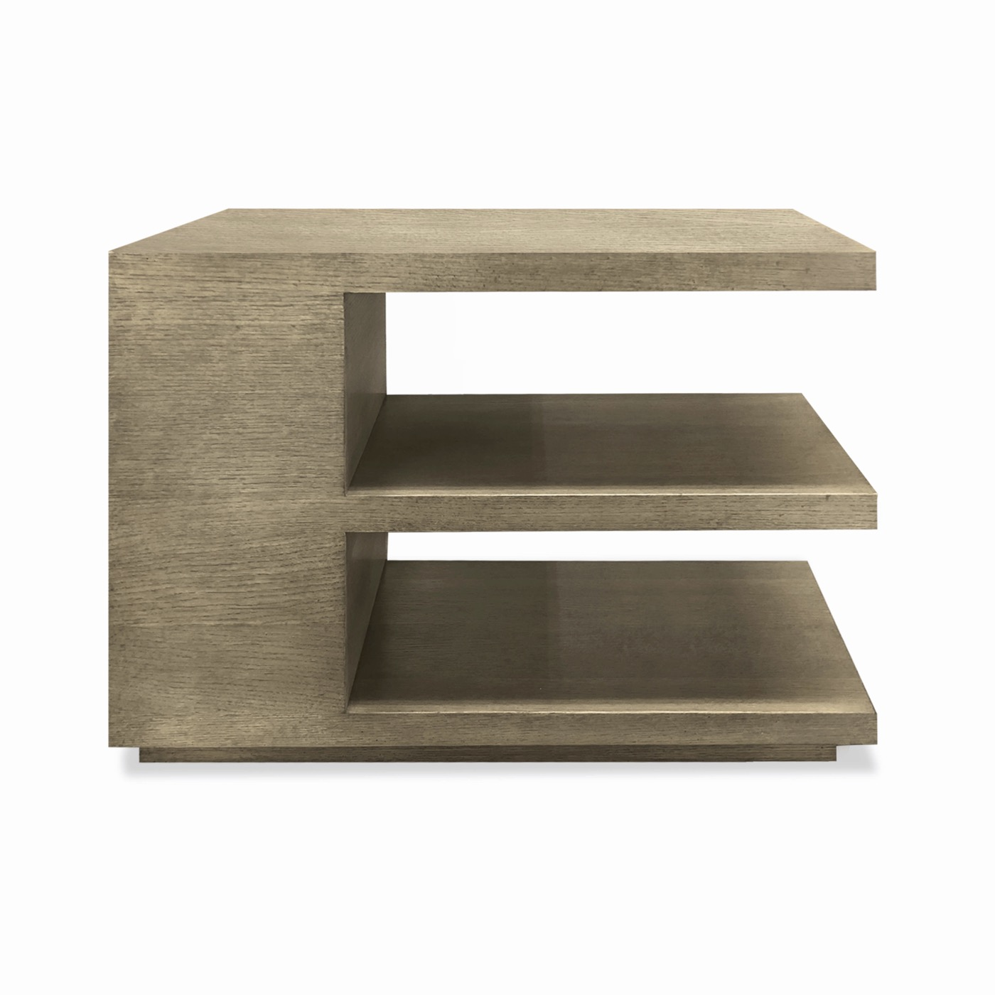 Cantilever Side Table, Stained