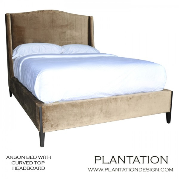 Anson Bed | Curved Headboard No. 2