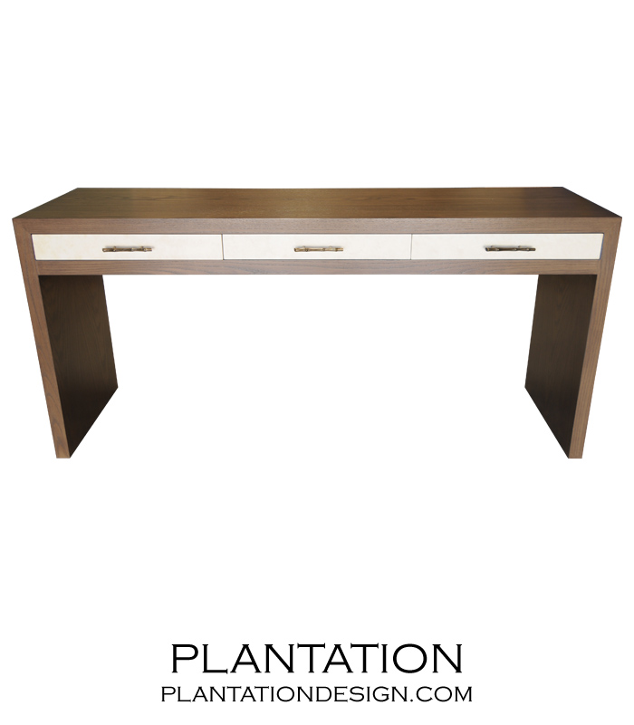 Clayton Console | Painted Drawers