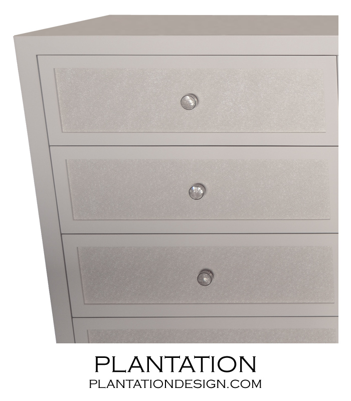 Fabric Front Dresser | 12-Drawer