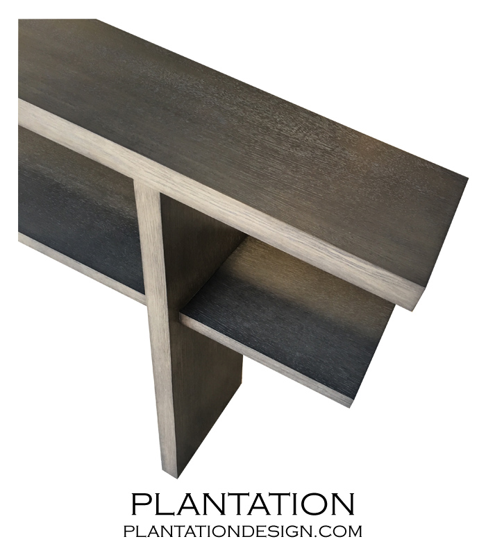 Canted Console