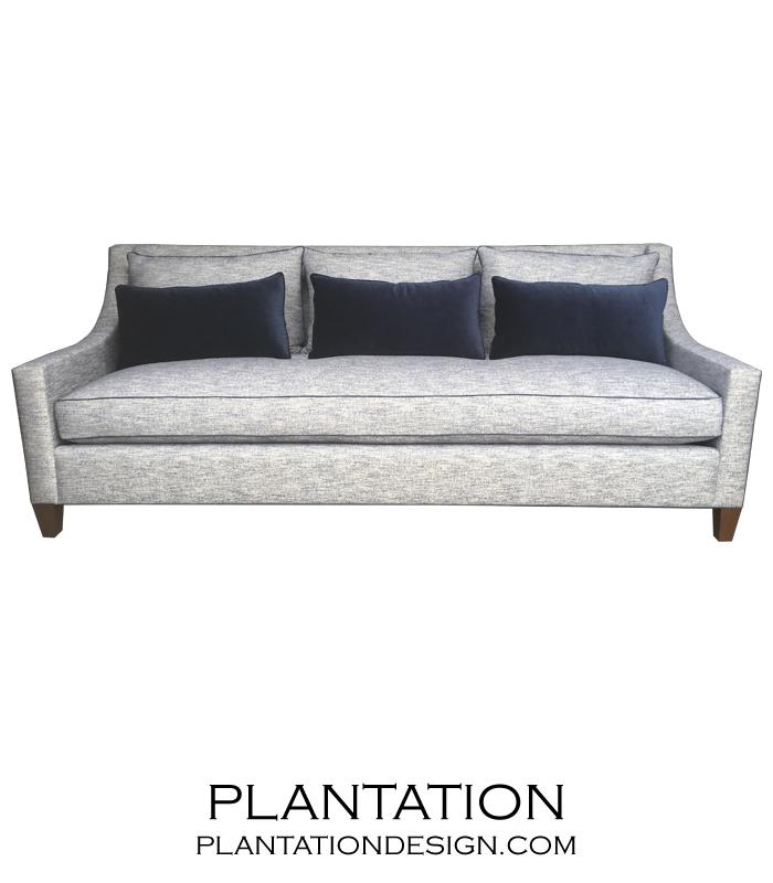 Grayson Sofa, Contrast Piping