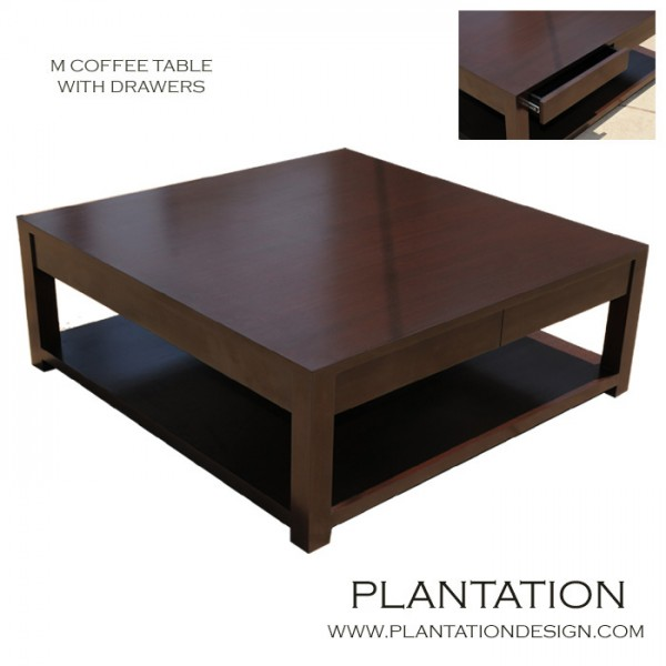 M Square Coffee Table