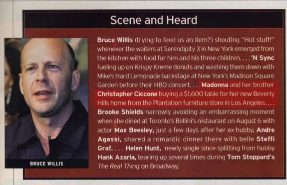 US Weekly August 2000