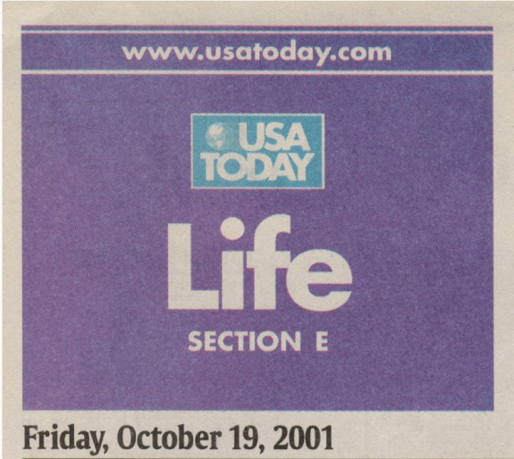 USA Today October 2001