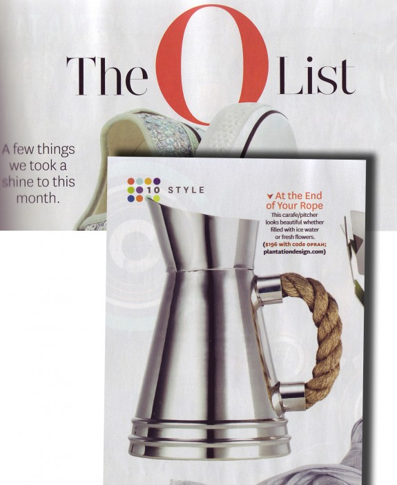 Oprah Magazine May 2010