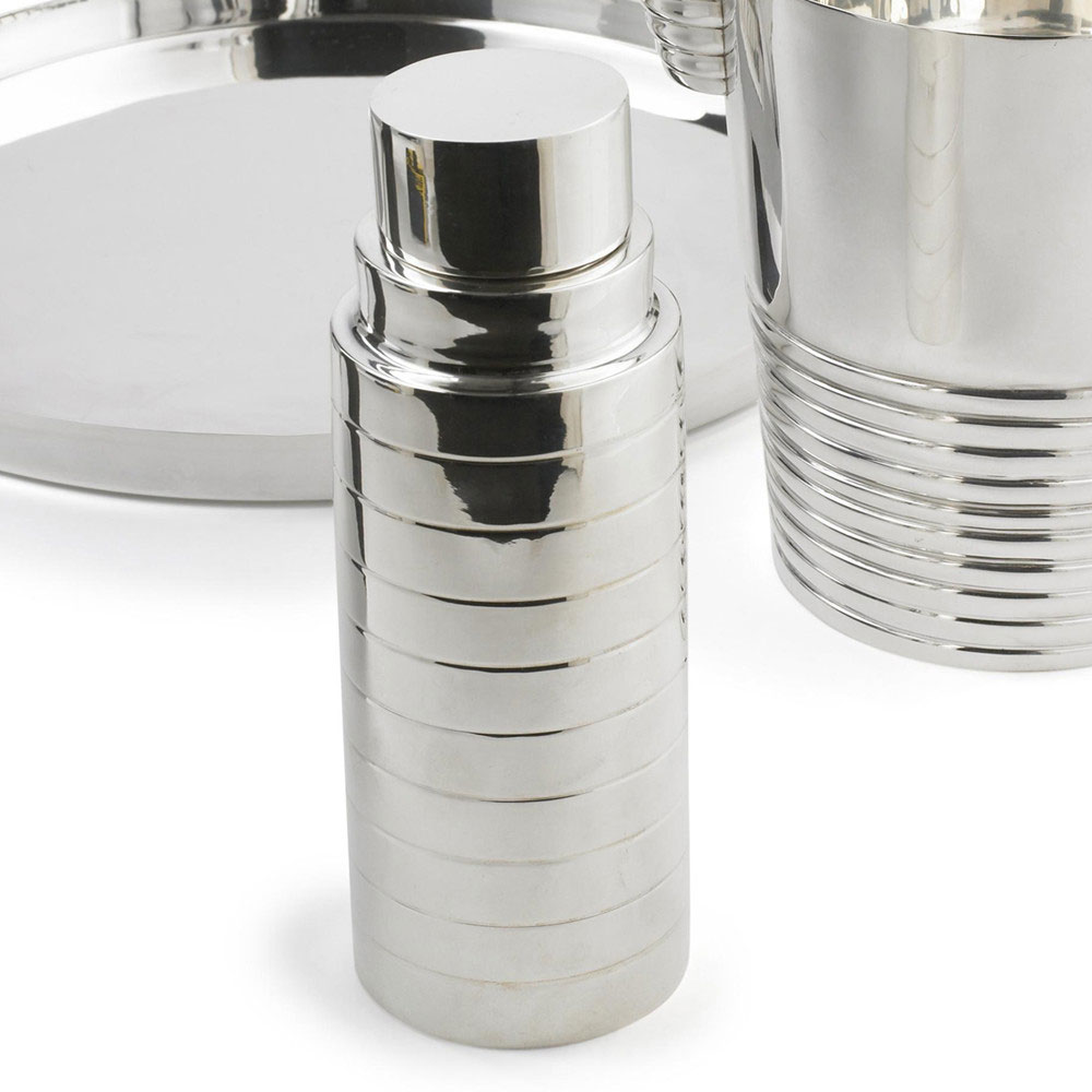 Montgomery Silver Cocktail Shaker