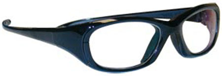 Maxi Wraparound Glasses Black