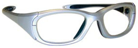 Maxi Wraparound Glasses Silver