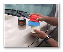 You can comfortably polish and wax your vehicle by hand without the fatigue you usually feel in your fingers.