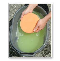 Wolfgang Polishing Pad Rejuvenator cleans your pads as good as new.
